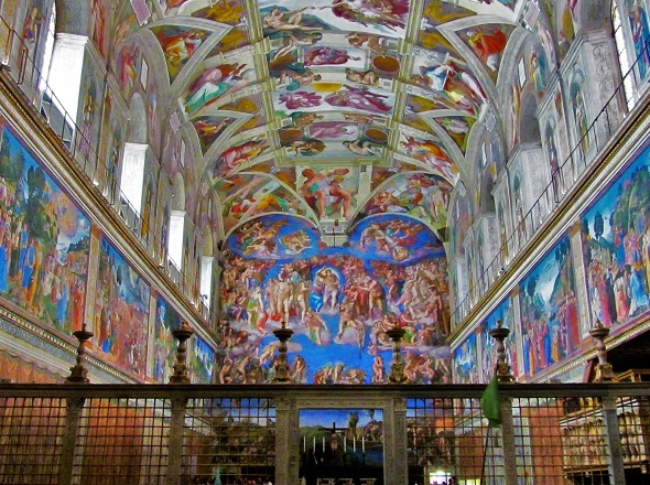 Sistine Chapel Guided tour | Official Vatican Museums Small group tours. Vatican City Vip entry tickets. Exclusive tours local tour guide